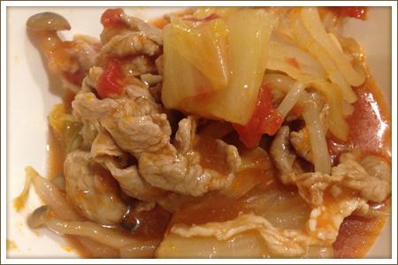 豚肉と白菜のトマト煮