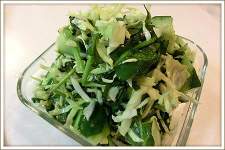グリーングリーンサラダ