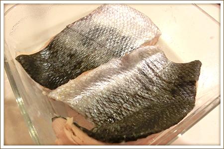 「自家製鮭フレーク」制作画像