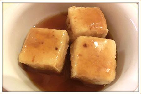 揚げだし豆腐のおろしあんかけ