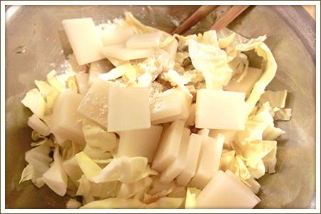 「もちチーズ」制作画像
