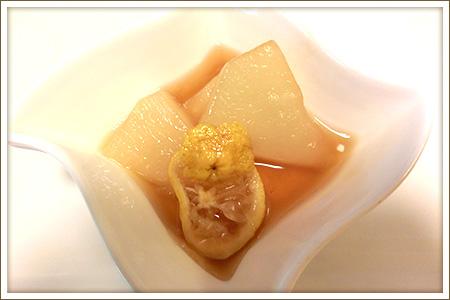 聖護院かぶの柚あんかけ