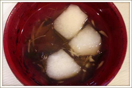 冬瓜と生姜のあったかスープ